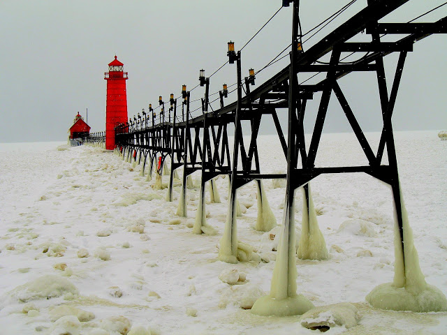 Grand Haven State Park in Winter - Sean Hartley