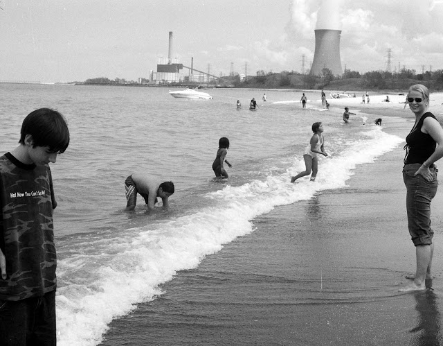 Mt. Baldy Beach, Michigan City, Indiana, 2006: George Stein