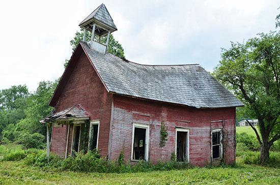 Sagging, Ohio. David J. Thompson