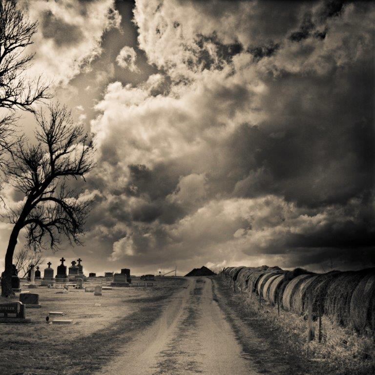 Headstones and Hay Bales, David McCleery, davidmccleery.com