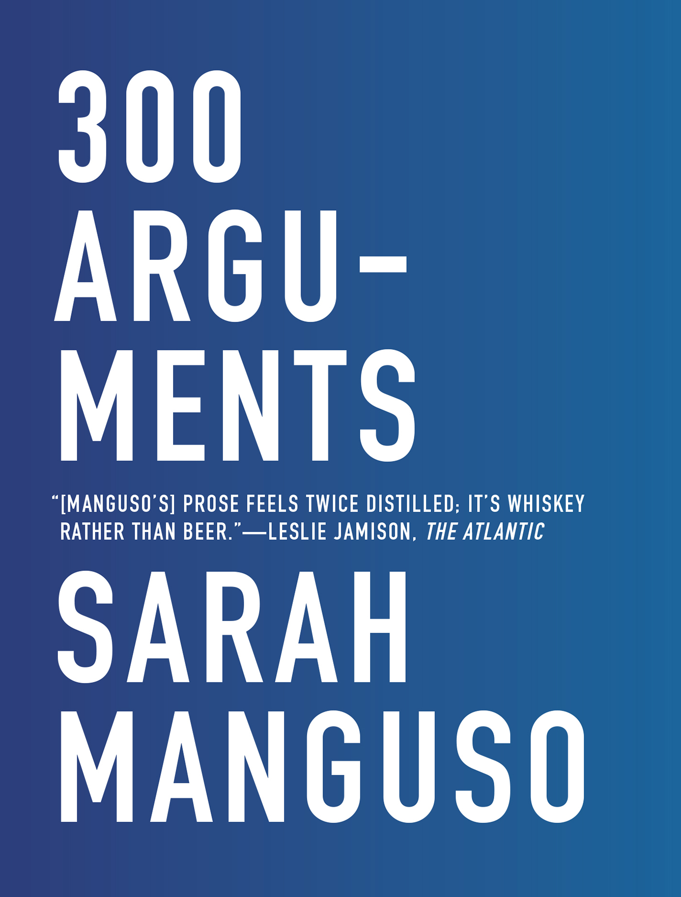 300 Arguments book cover