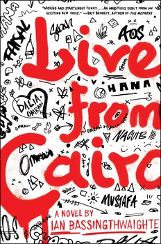 Live from Cairo book cover by Ian Bassingthwaighte