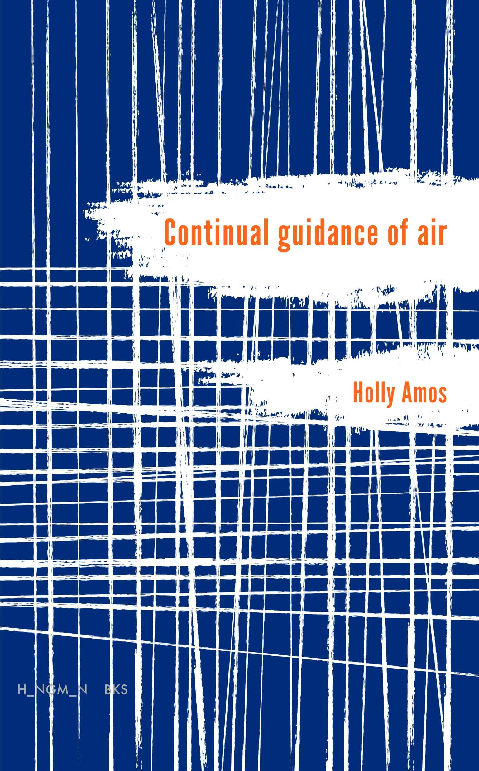 Continual guidance of air book cover by Holly Amos