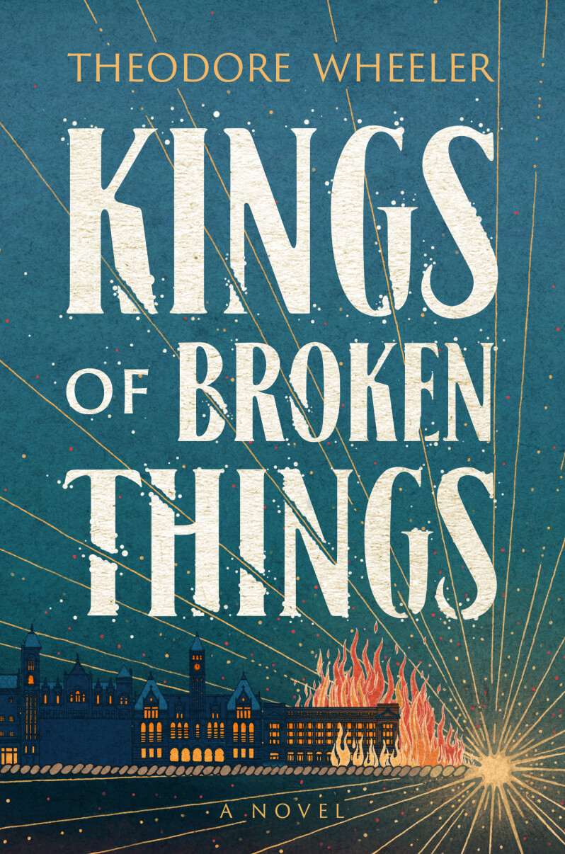 Kings of Broken Things book cover by Theodore Wheeler