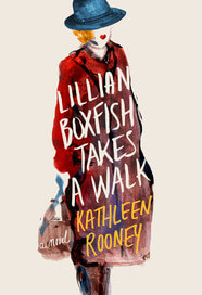 Lillian Boxfish Takes a Walk book cover by Kathleen Rooney