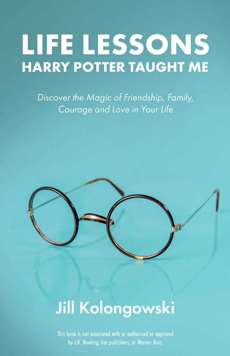 Life Lessons Harry Potter Taught Me book cover by Jill Kolongowski