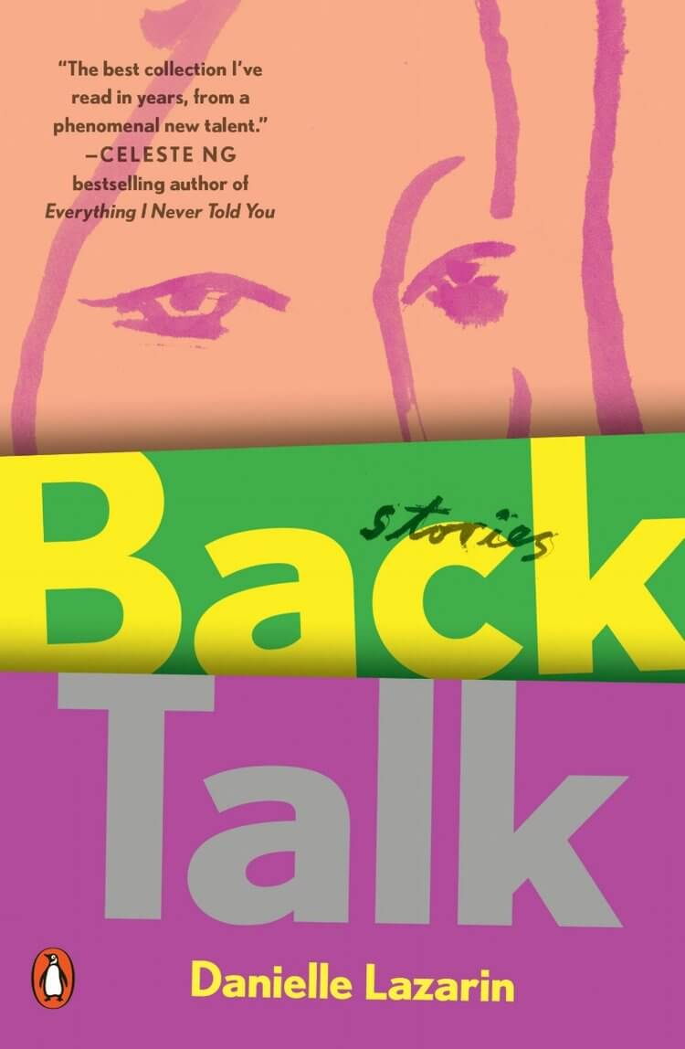 Back Talk book cover by Danielle Lazarin