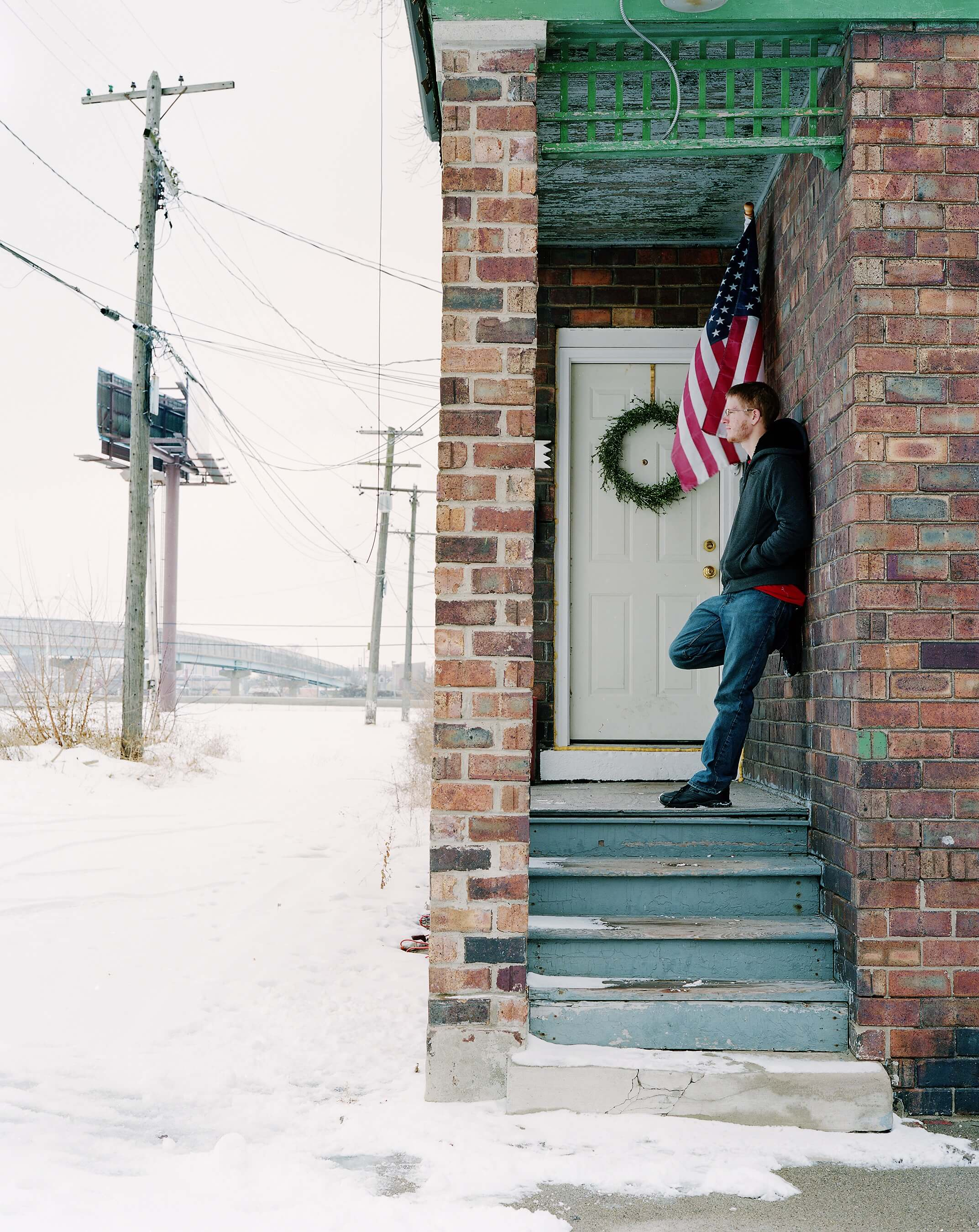 New Years Day, Detroit, MI, 2011 by Daniel Farnum