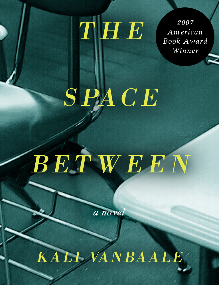 The Space Between book cover by Kali VanBaale