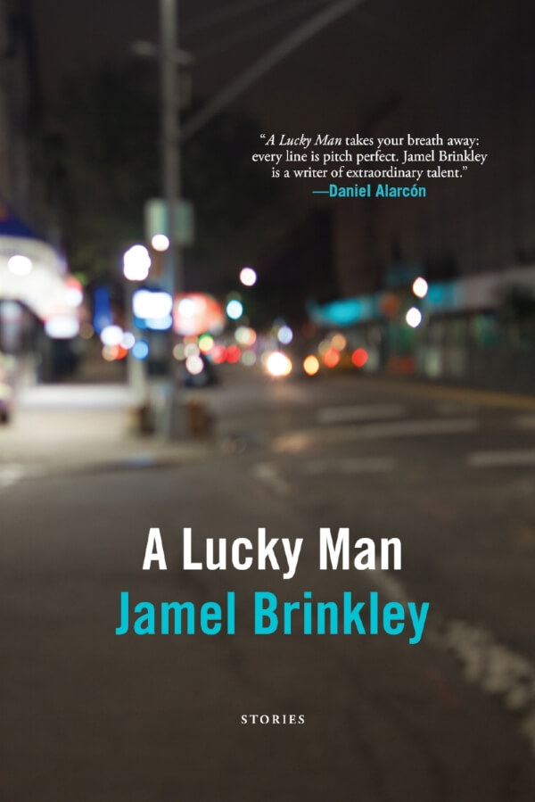 A Lucky Man book cover by Jamel Brinkley