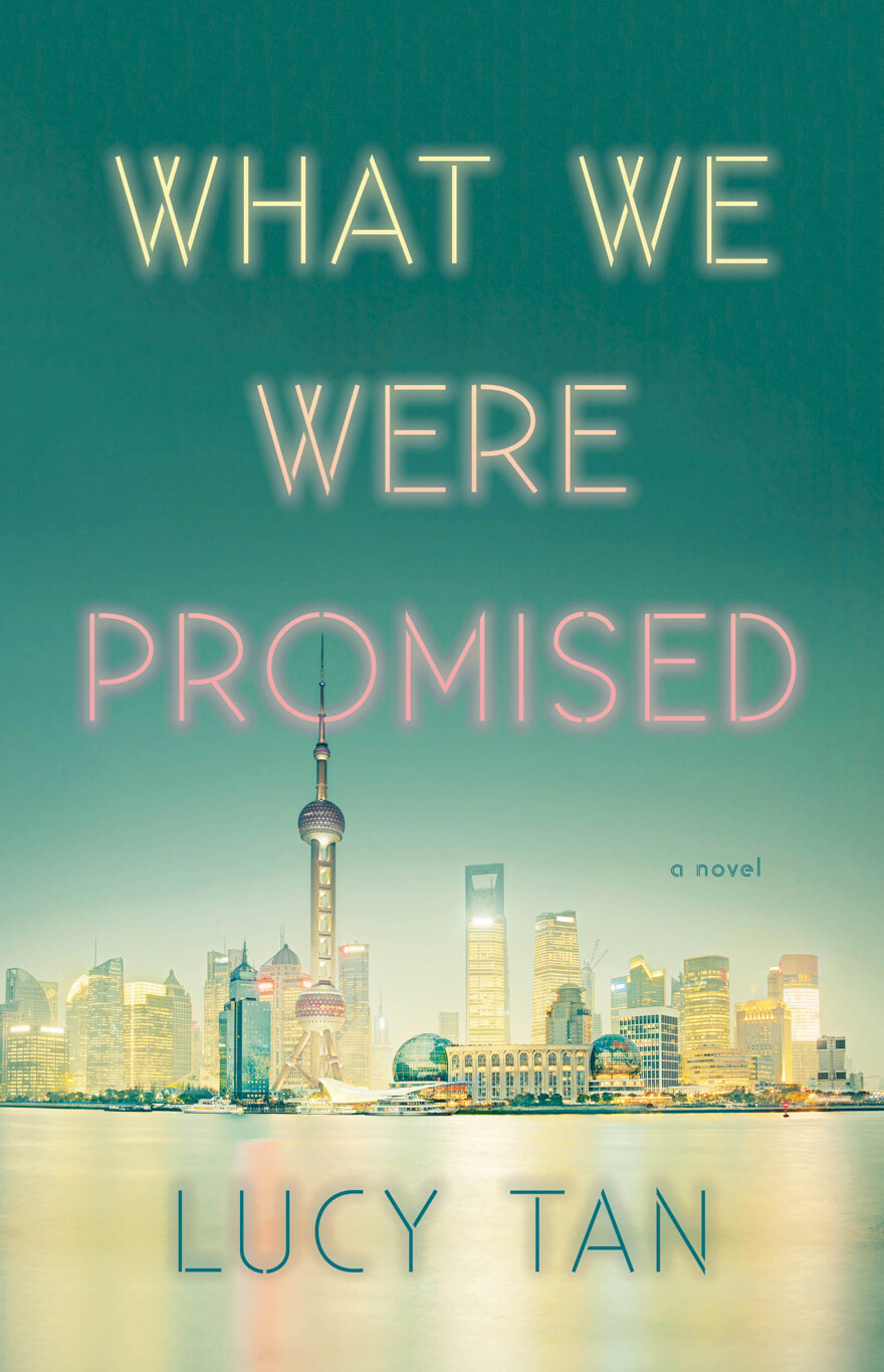 What We Were Promised book cover by Lucy Tan