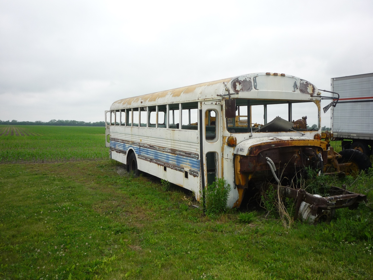 """Abandoned Bus in a Field"" (c) Joanna Key"