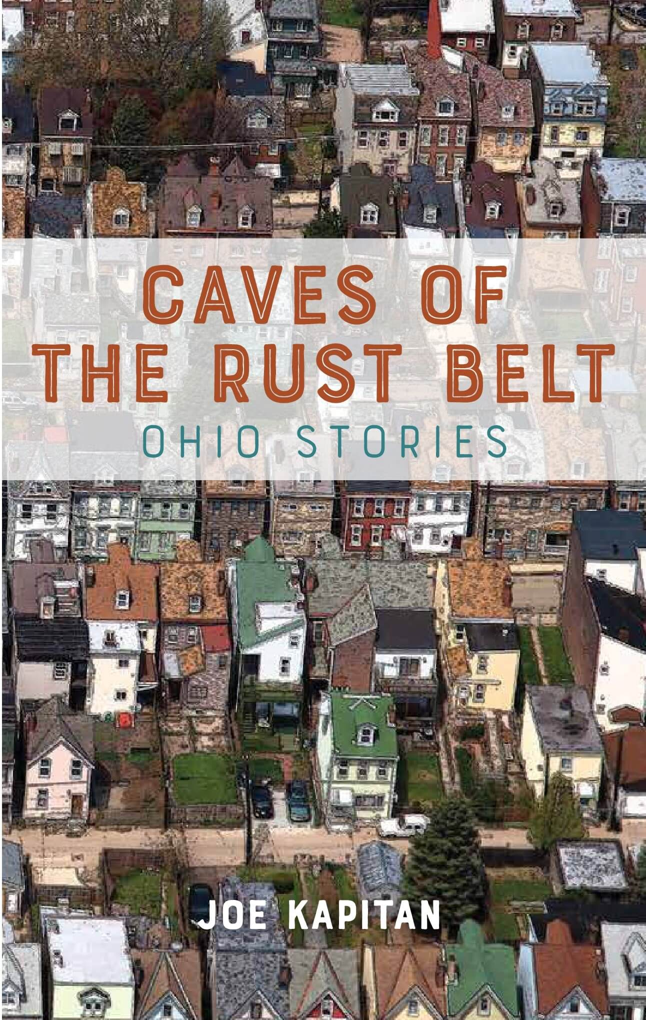 Caves of the Rust Belt book cover by Joe Kapitan