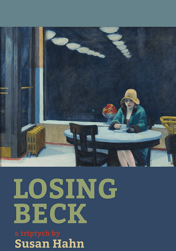 Losing Beck book cover by Susan Hahn