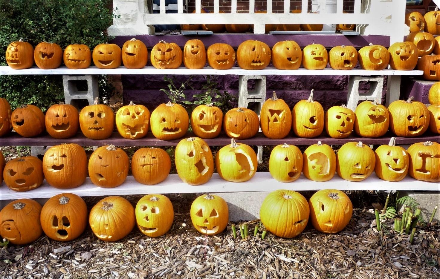 """Pumpkin Heads"" (c) Joanna Key"