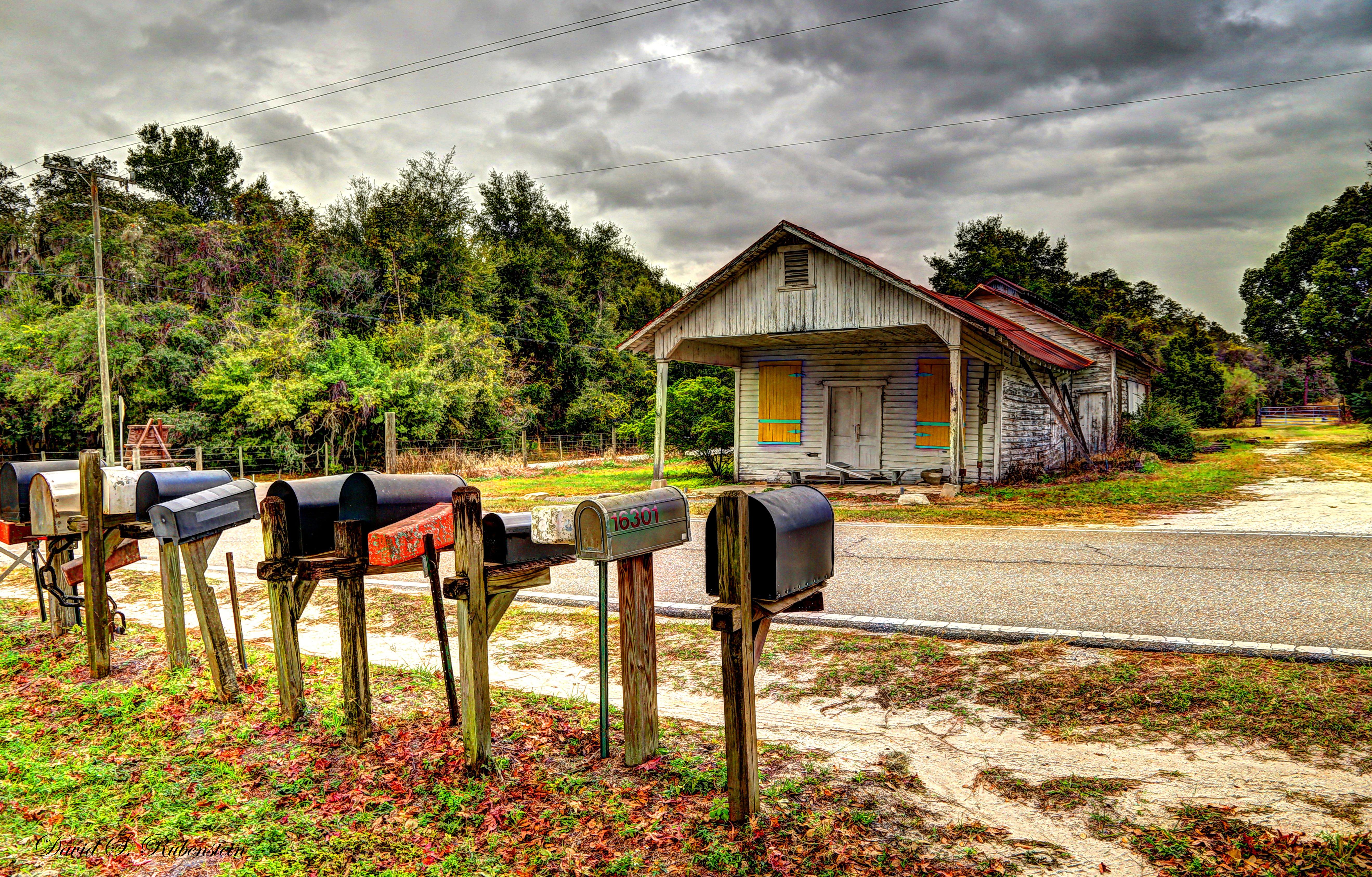"""""""You've got mail"""" (c) David S. Rubenstein"""