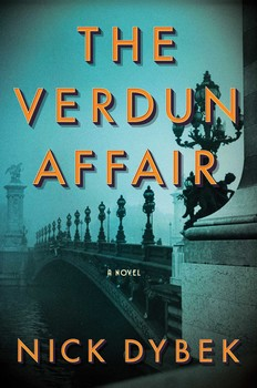 The Verdun Affair book cover by Nick Dybeck